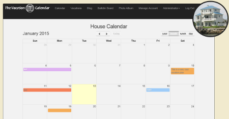 The Vacation Calendar - Online Calendar to Manage Your Shared ...